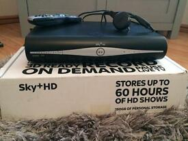 SKY+ HD box with SKY remote control