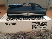 SKY+ HD box with SKY remote control
