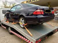 Car recovery service and breakdown