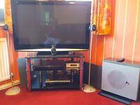 Clegg M6 501R Home Cinema Surround sound system + Subwoofer + Klegg M6 501PII Surround Sound Decoder
