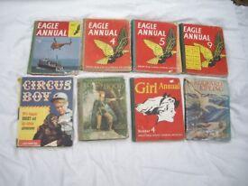 8 Vintage Childrens Books