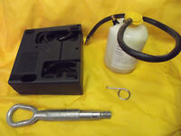 NEW BOOT TOOL KIT - ELECTRIC PUMP - SEALANT - TOWING EYE CAP REMOVER MG VW FORD BMW VAUXHALL SEAT