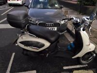 Aprilia mojito 125cc, vespa engine, great runner, MOT-september18