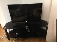 """LG TV and stand 28"""""""
