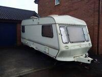 ___PRICE DROP___ Coachman 500 / 5 Caravan 5 Berth + 2 x Awning + GLASS TABLE + door step