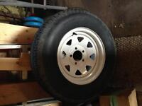 St205/75/14 tire and rim