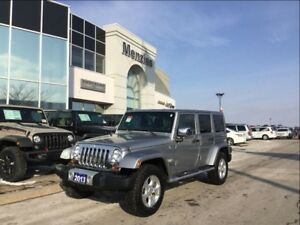 2013 Jeep WRANGLER UNLIMITED Sahara 4x4, Bluetooth, Navi, Clean