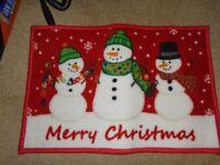 Merry Christmas Rug, Brand New....Never Used