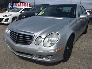 2008 Mercedes-Benz E-Class 3.5L/4 MATIC/NAVI/PANORAMIC ROOF/
