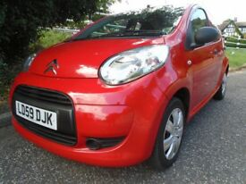 CITROEN C1 - 59 REG - *5 DOOR*- Low mileage- RED - Lovely condition