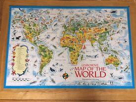 Map of the World Jigsaw, Usborne, 250 pieces