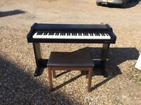 Digital Piano - Technics SX-PX70 For sale complete with power cable and piano stool