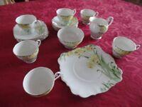 Vintage Royal Standard bone china 'Daffodils' tea service.