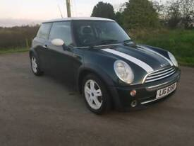 2005 MINI COOPER..MOTED TO JANUARY 2019 POSSIBLE PART EXCHANGE CREDIT CARDS ACCEPTED