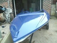 13ft speed boat and trailer