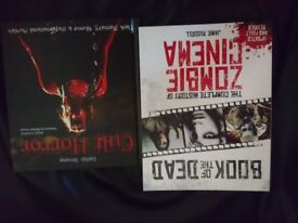 History of zombie cinema and cukt horror film books