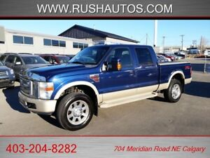 2008 Ford F-350 SD **Diesel** King Ranch FX4 Offroad