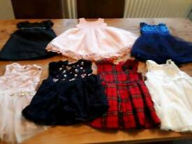 Beautiful bundle of dresses 12-18 months