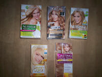 LADIES HAIR DYES (BLONDE)