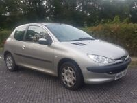 Peugeot 206, 1 owner, MOT 25 March 2018