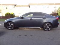 LEXUS IS250 2007 SPORT FULLY LOADED MULTIMEDIA WITH GREAT 18 INCH ALLOYS FOR SALE, SWAP or PX.