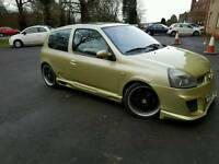 Renault Clio 1.4 MAX POWER Edition Swaps