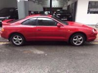TOYOTA CELICA GT 2.0 K&N COLD AIR INDUCTION PERFECT RUNNER Full Service history