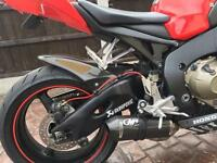 Honda CBR1000RR Fireblade 2008 08 + exhaust - M4 Carbon with link pipe and baffle