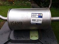 VW POLO 1.2, Rear Silencer/box