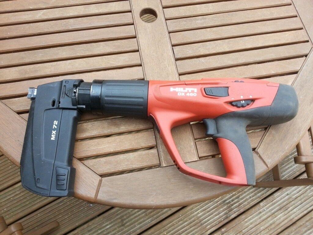Hilti Dx460 Nail Gun In Kemnay Aberdeenshire Gumtree