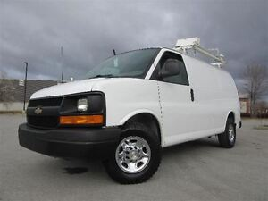 2011 Chevrolet Express 2500 ** Rack à échelle * Full rack **