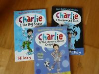 3 charlie early reader books