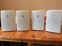 4 high quality commercial grade speakers