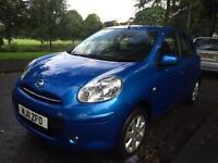 2011 nissan micra 1.2 petrol 5 door hatchback low mileage