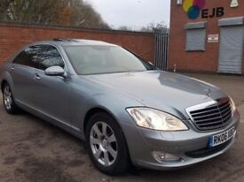 MERCEDES S320CDI GRAY CD TV DVD ALL THE EXTRA'S GOOD CONDINTION £5600