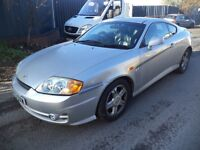 2003 Hyundai Coupe SE 2.0 Petrol 2 Door Silver. Mileage 95K. Comes with 2 Months MOT