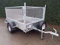 IFOR WILLIAMS TRAILER P6e FULLY CAGED IVOR WILLIAMS PLANT GARDEN MOTO X QUAD CAR