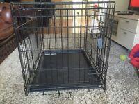 Small/medium metal dog crate