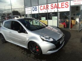 2011 61 RENAULT CLIO 2.0 RENAULTSPORT SILVERSTONE GP 3D 200 BHP *** GUARANTEED FINANCE ***