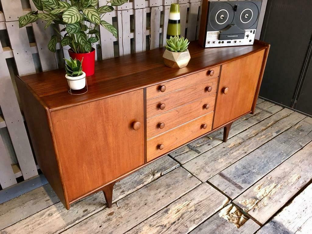 Vintage retro teak younger sideboard mid century modern in doncaster south yorkshire gumtree