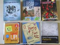Video game art & programming books