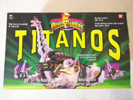 Power rangers titanos boxed in great condition