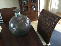 Decorative glass jar/bottle ornament