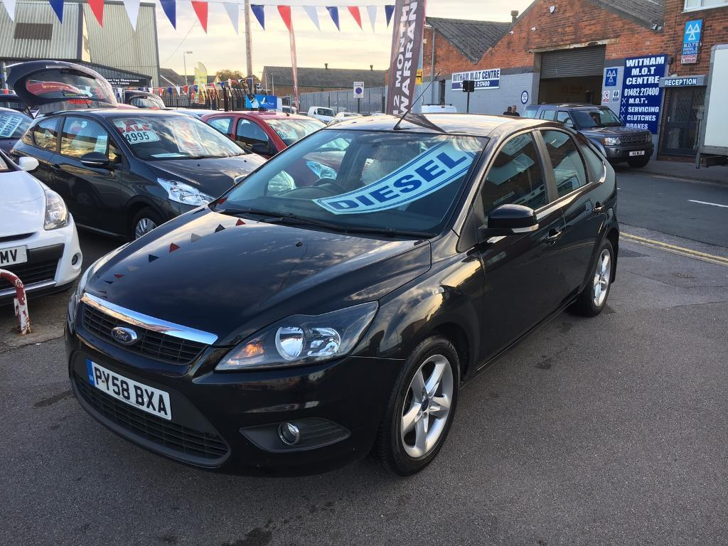 Ford Focus 1.6 TDCI Zetec *** £30 ROAD TAX *** 62 MPG! *** 12 MONTHS  WARRANTY! ***