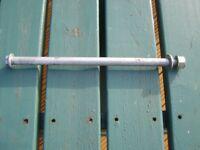 honda hornet 600 cb600 cb 600 swingarm spindle