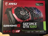 MSI GeForce GTX 1080 GAMING X 8GB GDDR5X 2560 Core VR Ready Graphics Card with Twin Frozr + RGB LEDs
