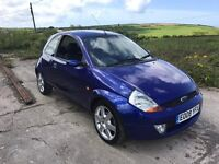 FORD SPORTKA SE BLUE 1.6 3DR 2008 ONLY 39,000 MILES LEATHER
