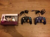Nintendo Stuff For Sale (Gamecube + N64 + Wii Controllers, DS Carry Case, Steering Wheel)