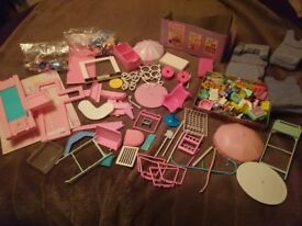 Mattell Barbie- dolls, accessories 1980's