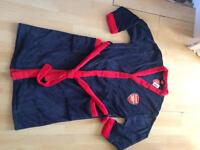 Arsenal dressing gown Sz l/m